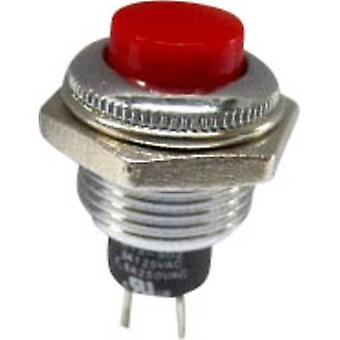 Pushbutton 250 V AC 1.5 A 1 x Off/(On) SCI R13-502