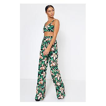 The Fashion Bible Elisa Green Floral Co-ord