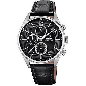 Festina mens watch of timeless chronograph F20286/4