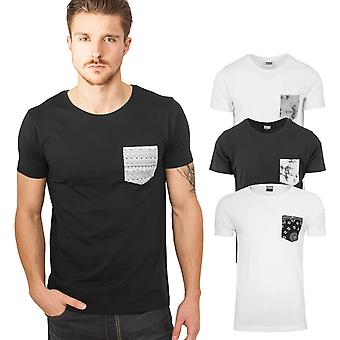 Urban Classics - PATTERN POCKET Basic Shirt