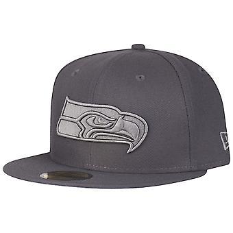 New era 59Fifty casquette - GRAPHITE Seattle Seahawks
