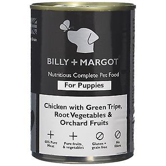 Billy + Margot nahrhafte komplett nassen Hund Essen Hund Huhn/Kutteln