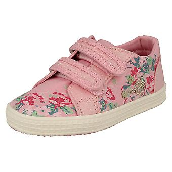 Girls Startrite Casual Canvas Shoes Edith 2 - Pink Canvas - UK Size 11.5F - EU Size 30 - US Size 12.5
