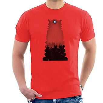 Doctor Who Shadowfield Dalek Men's T-Shirt