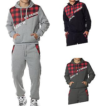 Unisex Tracksuit Jogging suit Sport Hoodie Urban Print Pattern NY