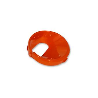 Kabel krage Tangerine
