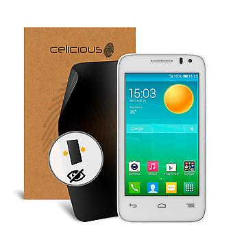 Celicious Privacy 2-Way Visual Black Out Screen Protector for Alcatel Pop D3