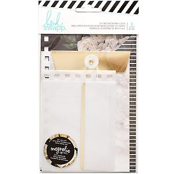 Heidi Swapp Journal Envelopes 3/Pkg-Magnolia Jane