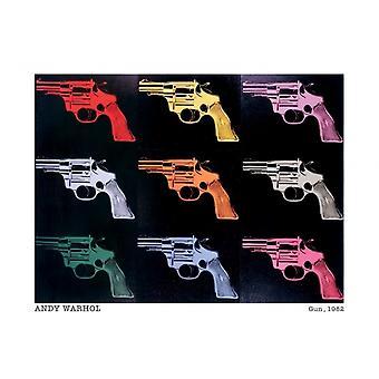 Andy Warhol canons des armes à feu 1982 affiche Poster Print