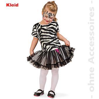 Zebra costume Zebra dress tulle dress Africa children wild horse kids costume