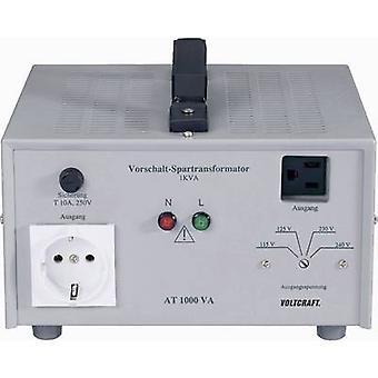 VOLTCRAFT AT-1500 NV 1500 W 240 V AC Manufacturer's standards (no certificate)