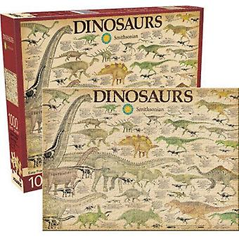Dinosaurs 1000 Piece Jigsaw Puzzle 710Mm X 510Mm
