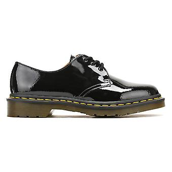 Dr. Martens Womens Black 1461 Patent Leather Shoes