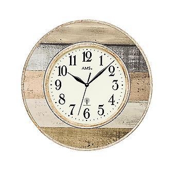 Wall clock radio AMS - 5975