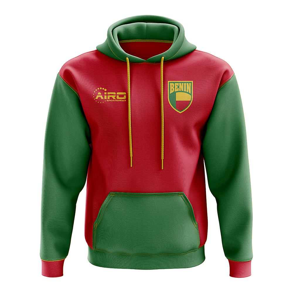 Benin Concept Country Football Hoody (rouge)