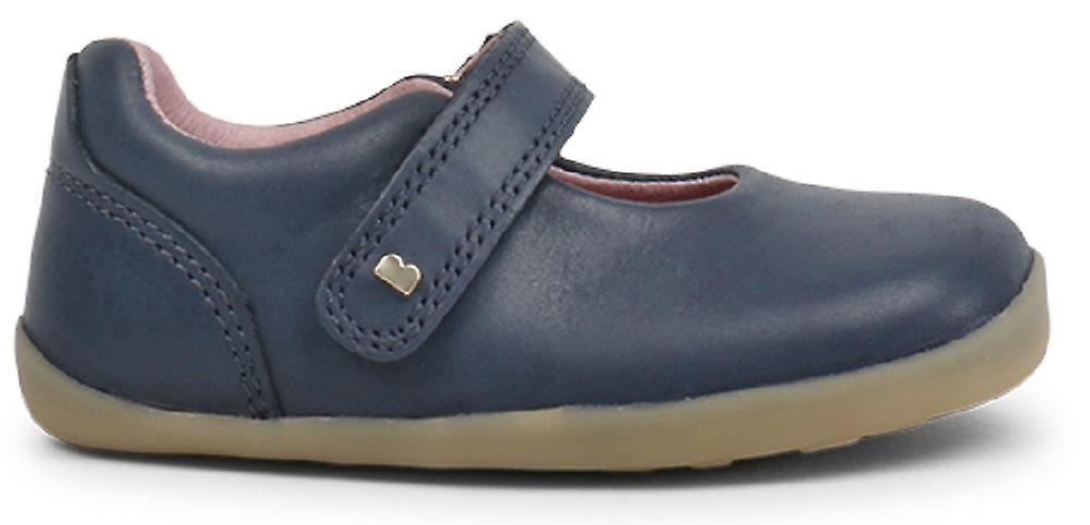 Bobux Step Up Girls Delumière chaussures Navy