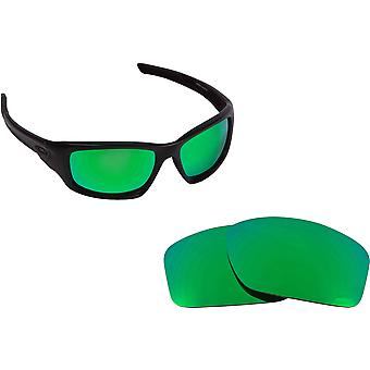 Valve Asian Fit Replacement Lenses Polarized Green by SEEK fits OAKLEY