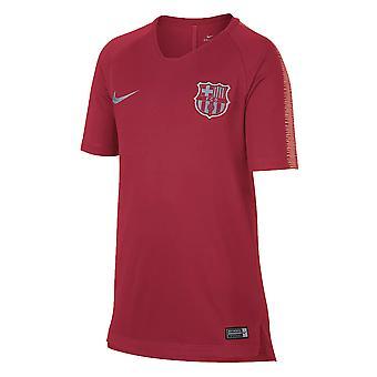 2018-2019 Barcelona Nike Trainingsshirt (Tropical Pink) - Kinder