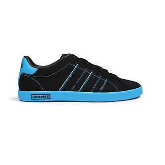 Lonsdale Mens Gents Oval Trainers Sport Shoes Sneakers Lace Up Stitched Footwear