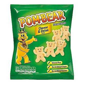 POM-Bären-Käse und Zwiebel Chips