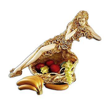 果物、75 x 59 x 28 cm の彫刻