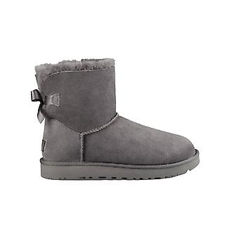 UGG GREY MINI BAILEY BOW II BOOT