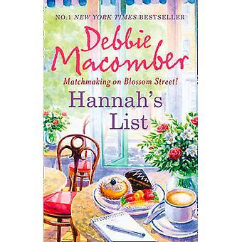 Hannah's List by Debbie Macomber - 9780778303794 Book