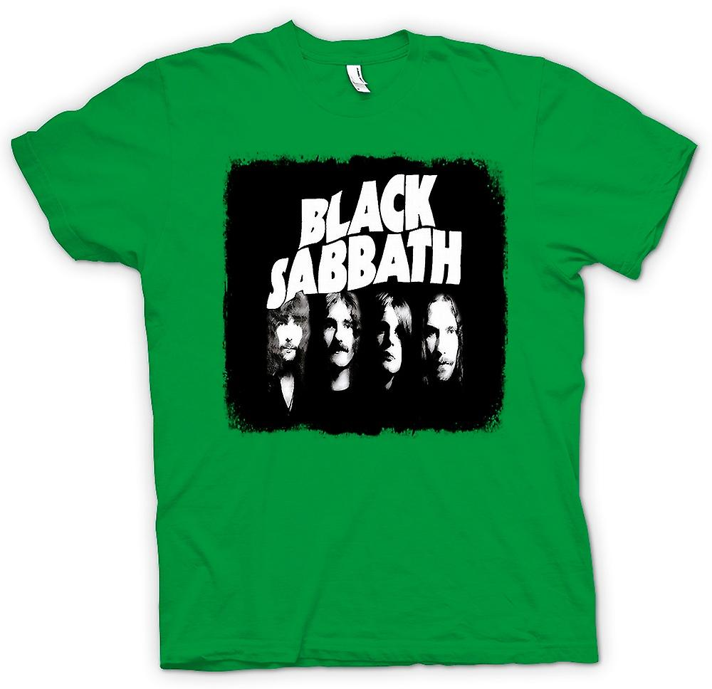 Herr T-shirt-Sabbath - Band - Heavy Metal