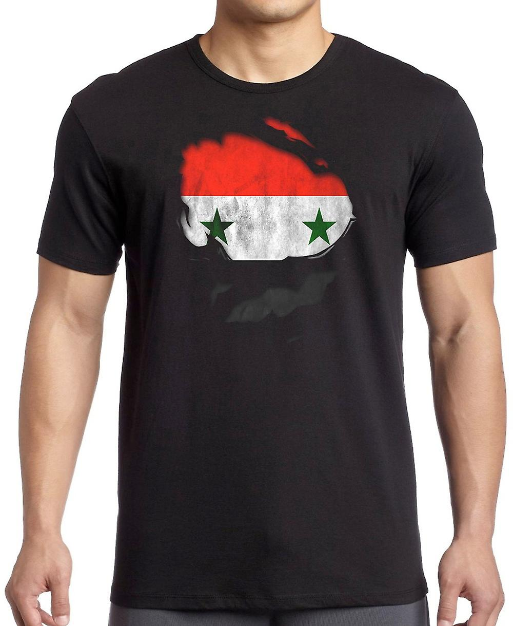 Syria Ripped Effect Under Shirt Women T Shirt