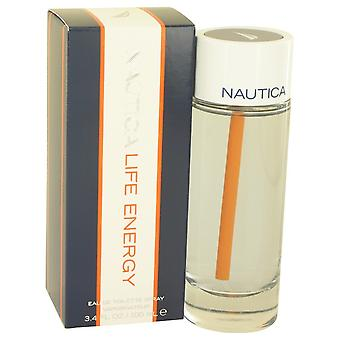 Nautica Life Energy by Nautica Eau De Toilette Spray 3.4 oz / 100 ml (Men)