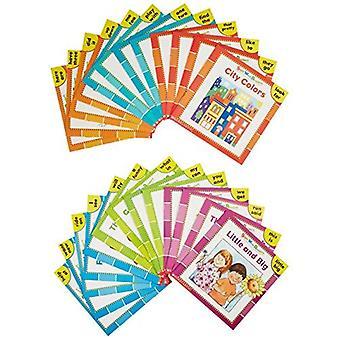 Vista palabra lectores en caja Set: Aprendiendo primeros 50 palabras a primera vista es un broche de presión! con libro (vista palabra lectores)