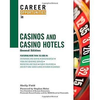 Opportunità di carriera in Casino e Casino Hotel