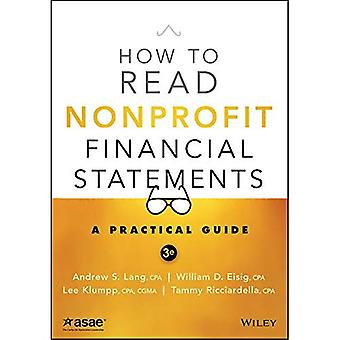 How to Read Nonprofit Financial Statements