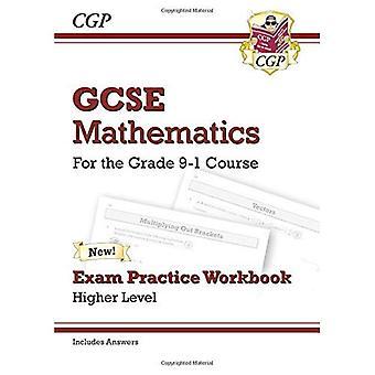 Nueva matemáticas GCSE examen práctica libro: Más alto - para el grado 9-1 curso (incluye respuestas)