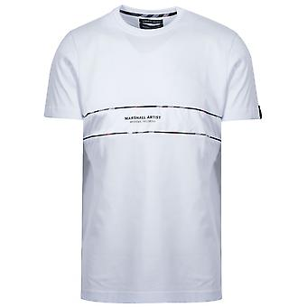 Marshall Artist Marshall Artist White Short Sleeve Logo T-Shirt