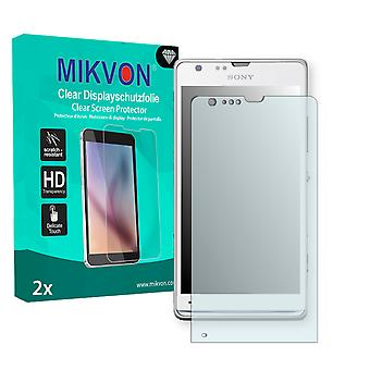 Sony HuaShan Screen Protector - Mikvon Clear (Retail Package con accessori)