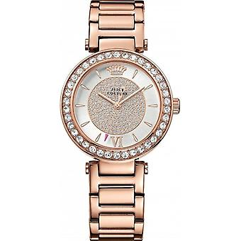 Juicy Couture 1901152 Ladies' Luxe Couture Rose Tone Stone Set Watch