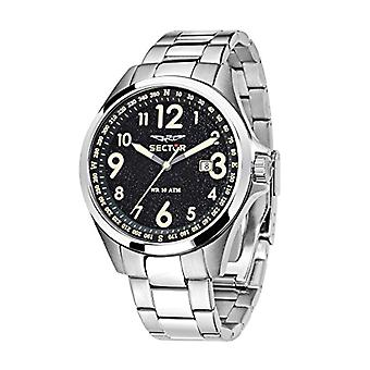 Sector men's analog quartz watch with stainless steel band R3253180003