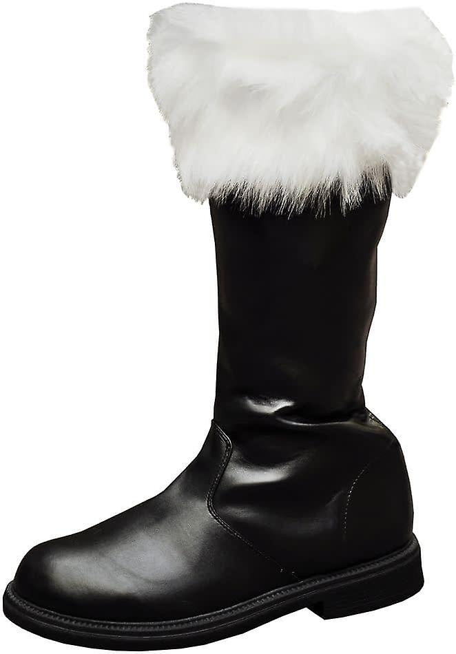 Santa Boot With White Fur Cuff