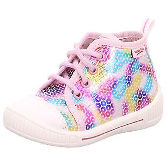 Meninas Superfit intimidar 4-248-55 lona botas rosa