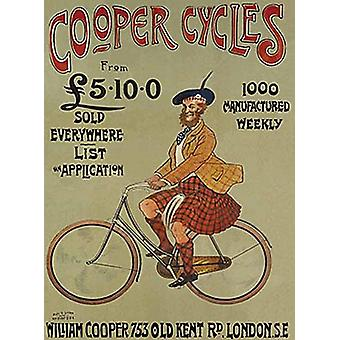 Cooper Cycles Steel Sign  (og 2015)