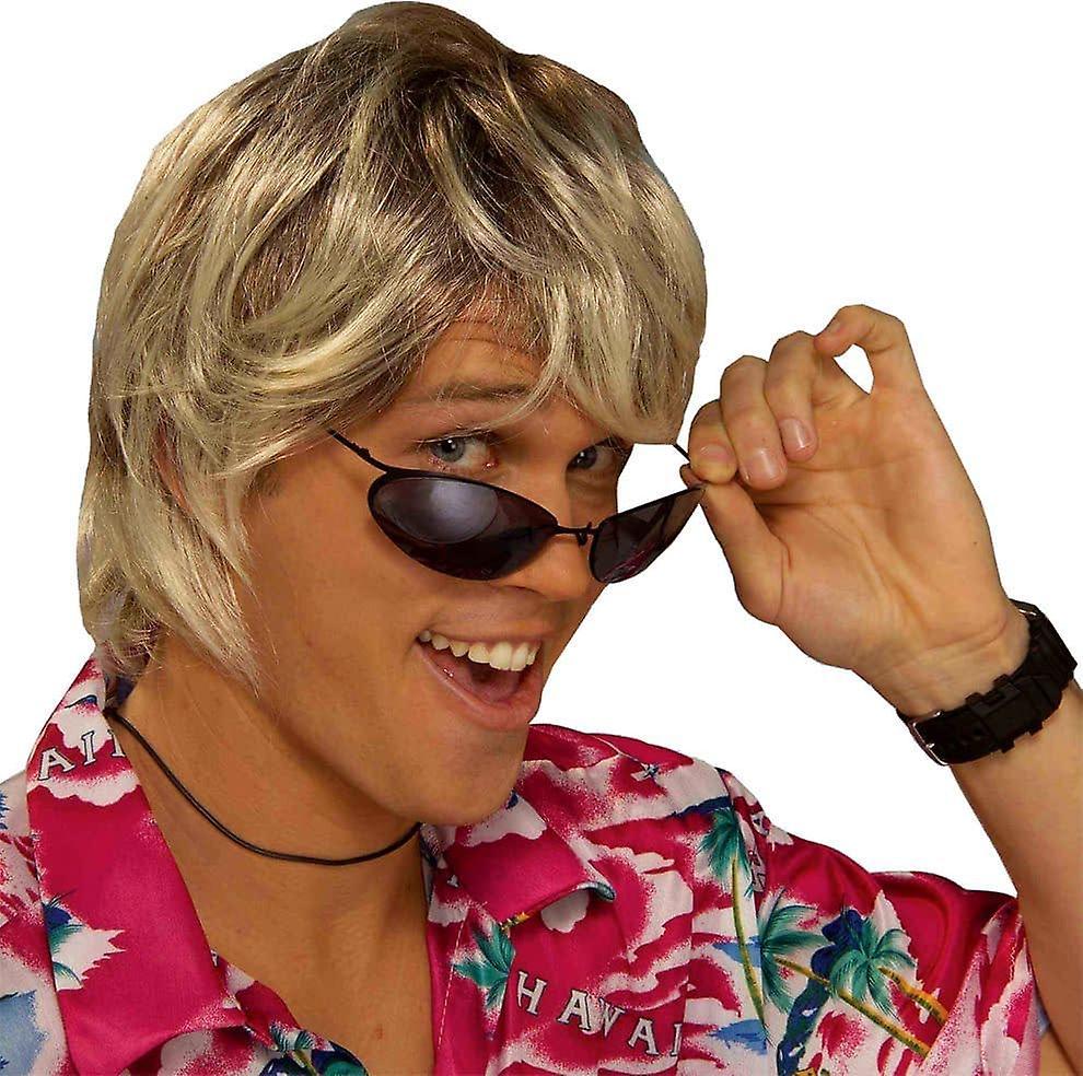 Surfer parykk Blonde