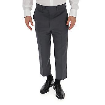 Prada Grey Wool Pants