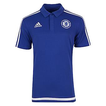 2015-2016 Chelsea Adidas Polo Shirt (Blue)