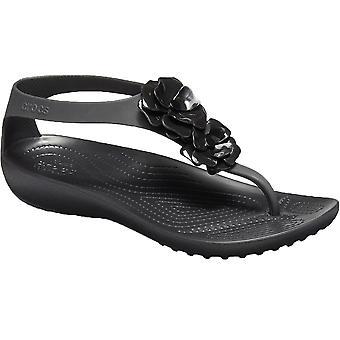 Crocs W Serena Embellish Flip 205600-060 Womens sandales en plein air