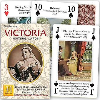 Queen Victoria (Her Life & Reign) Deck of 52 Playing Cards + Jokers (hpc)