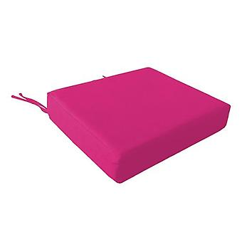 Foam Wheelchair Seat Cushion in Cotton Cover - Pink