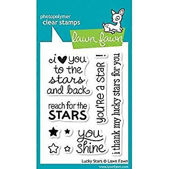 Lawn Fawn Clear Stamps Lucky Stars (LF514)