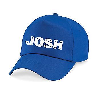 Kids Personalised Screw Name Baseball Cap Set