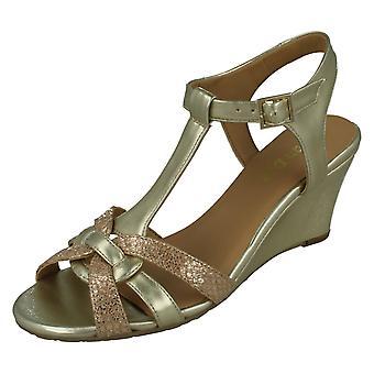 Ladies Van Dal Special Made Wedge Sandals Temple